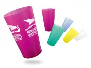 Verre/Tasse plastique réutilisable