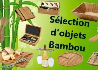 Objets Bambou