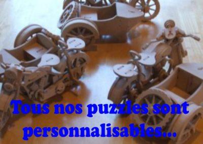 Puzzles 3D véhicules…auto / moto / avion…