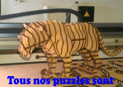 Puzzles 3D animaux